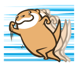 Kotsumetti of Small-clawed otter 03 sticker #2160647
