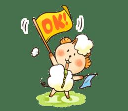 Sleep Sheep Sticker sticker #2161162