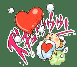 Sleep Sheep Sticker sticker #2161184