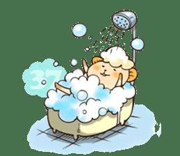 Sleep Sheep Sticker sticker #2161189