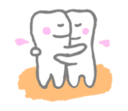 ha(tooth)-desu sticker #2161496