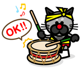 I LOVE AWA ODORI sticker #2161931