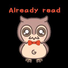 Happiness owl