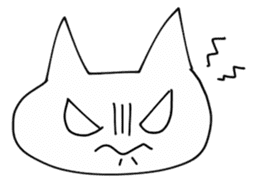 FaceCat sticker #2162098