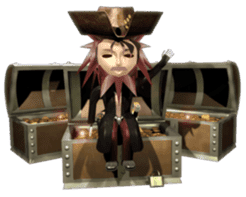 3D Pirates sticker sticker #2162482