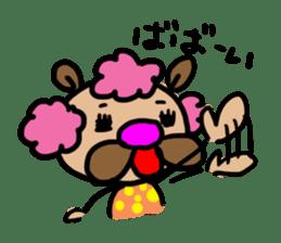 bear bear by KUMAMI sticker #2163847