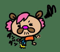 bear bear by KUMAMI sticker #2163859