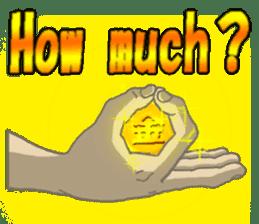 comics hand sticker #2165615