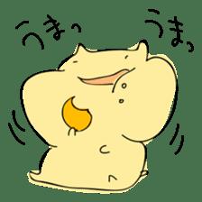Everyday sticker of a healing hamster sticker #2165760