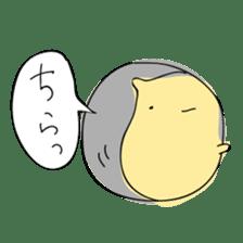 Everyday sticker of a healing hamster sticker #2165761