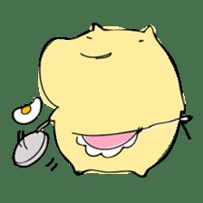 Everyday sticker of a healing hamster sticker #2165768