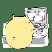 Everyday sticker of a healing hamster sticker #2165776