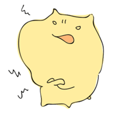 Everyday sticker of a healing hamster sticker #2165780