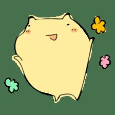 Everyday sticker of a healing hamster sticker #2165789