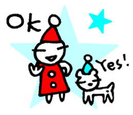 KAZURIN 7: Christmas (English ver.) sticker #2166116