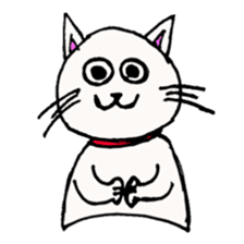 Cat? sticker #2167046