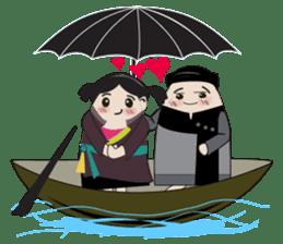 Vietnam's traditional costume sticker #2167205