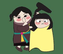 Vietnam's traditional costume sticker #2167212