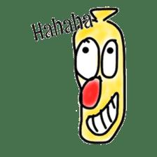 BANA-NA sticker #2167793