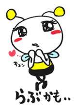Bee can not fly ~ Love version ~ sticker #2168241