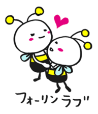 Bee can not fly ~ Love version ~ sticker #2168252