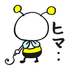 Bee can not fly ~ Love version ~ sticker #2168259