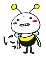 Bee can not fly ~ Love version ~ sticker #2168262