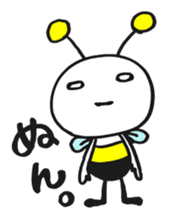 Bee can not fly ~ Love version ~ sticker #2168264
