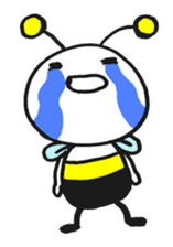 Bee can not fly ~ Love version ~ sticker #2168266