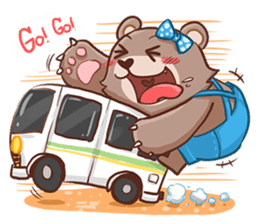Brownie & Boyfriend sticker #2168437