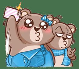 Brownie & Boyfriend sticker #2168438