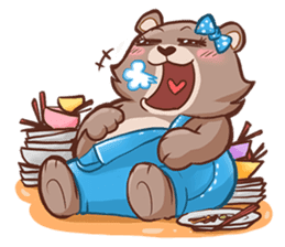 Brownie & Boyfriend sticker #2168439