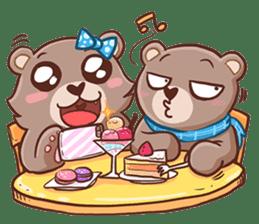 Brownie & Boyfriend sticker #2168450