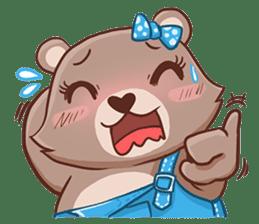 Brownie & Boyfriend sticker #2168455