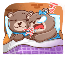 Brownie & Boyfriend sticker #2168471