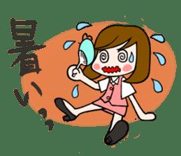 Office lady Mayumisan sticker #2168597