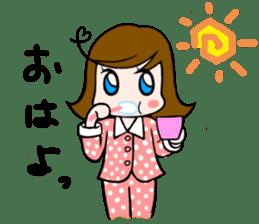 Office lady Mayumisan sticker #2168601