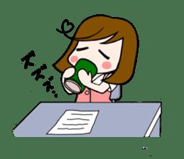 Office lady Mayumisan sticker #2168604