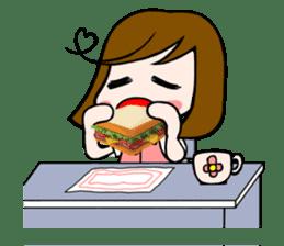 Office lady Mayumisan sticker #2168605