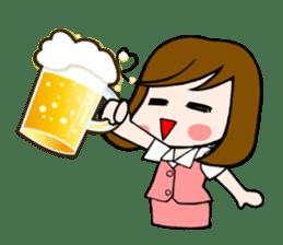 Office lady Mayumisan sticker #2168608