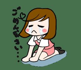 Office lady Mayumisan sticker #2168610
