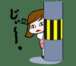 Office lady Mayumisan sticker #2168612