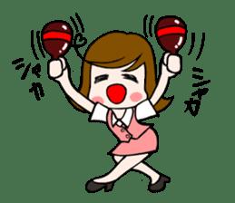 Office lady Mayumisan sticker #2168613
