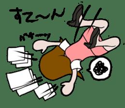 Office lady Mayumisan sticker #2168615