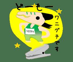 Mr WANIGUCHI Japanese Version sticker #2169312