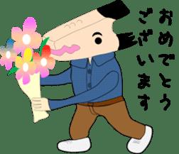 Mr WANIGUCHI Japanese Version sticker #2169318