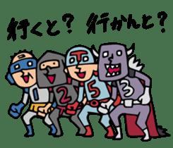 Do your best. Heroes. in Nagasaki sticker #2170074
