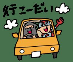Do your best. Heroes. in Nagasaki sticker #2170076