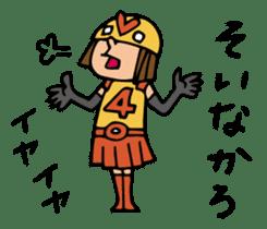 Do your best. Heroes. in Nagasaki sticker #2170109