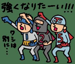 Do your best. Heroes. Episode 5 sticker #2170279